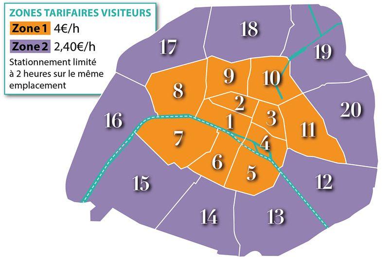 parking map zones
