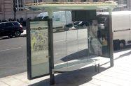 new bus shelter