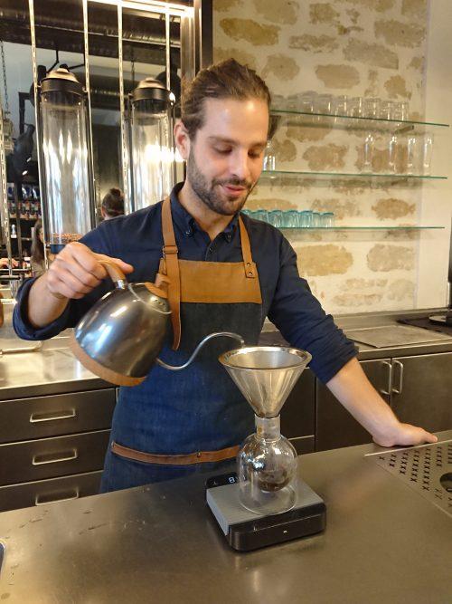 Server at La Manufacture du Café
