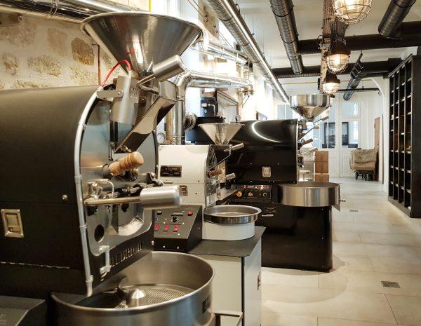Coffee roasting machines
