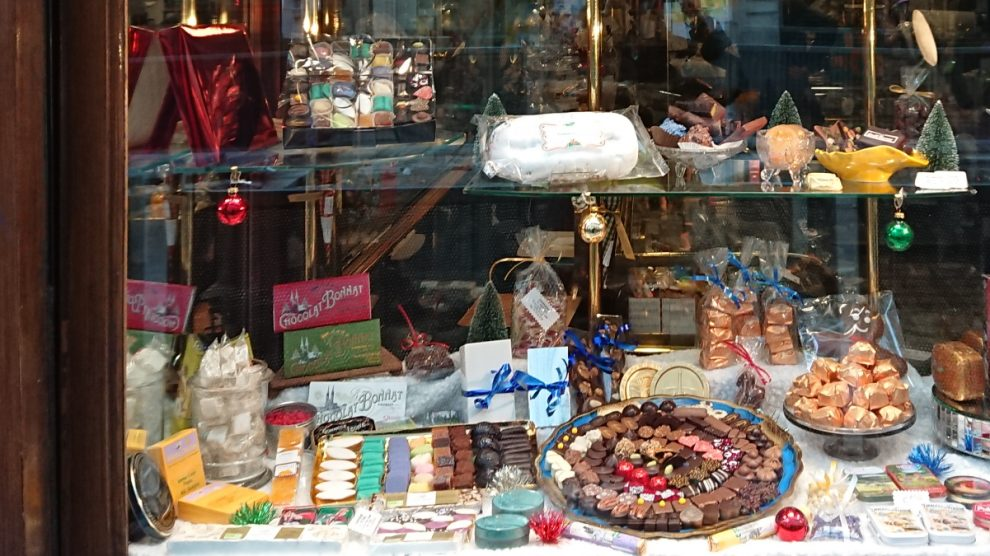 candy shop window