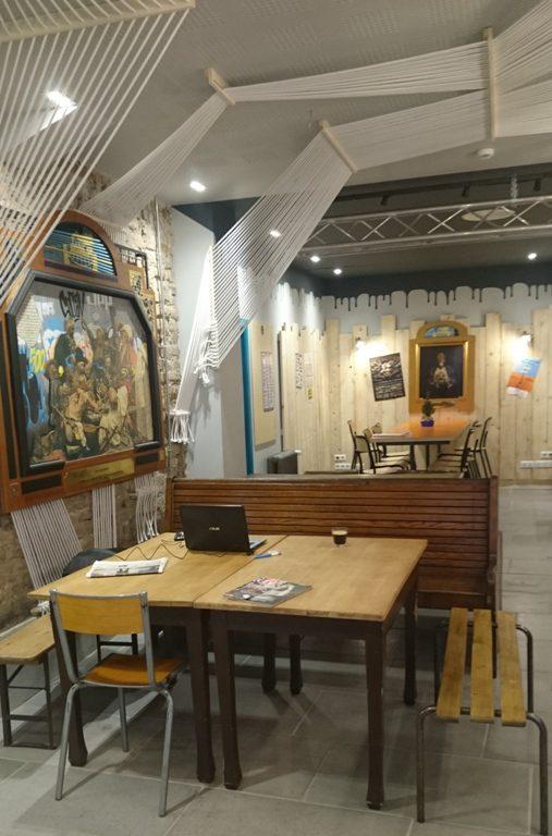 Café at the Hotel Graffalgar