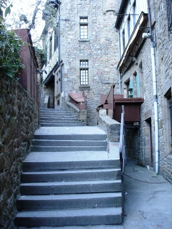 Stairs, stairs, stairs..
