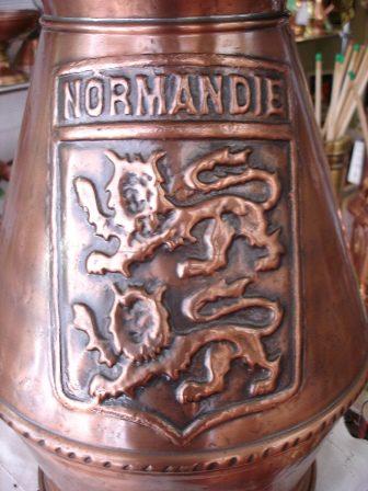 copper Normandie