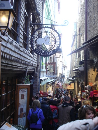 The Streets of Mont St-Michel