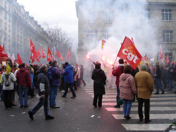 protest march paris
