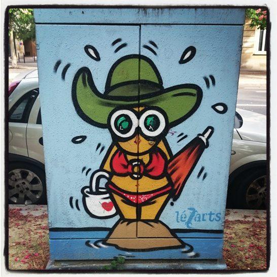 Lezarts graffiti