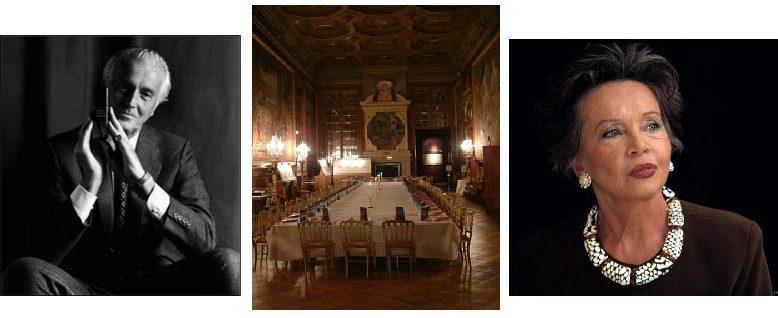 Leslie Caron & Givenchy