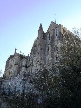 Mont St Michel view