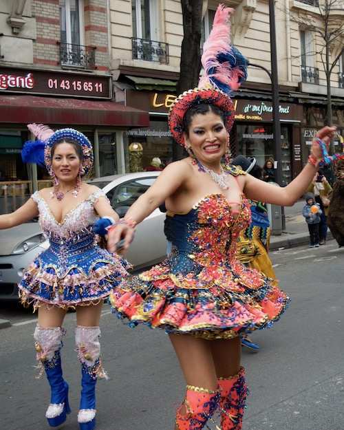 Carnaval dancers