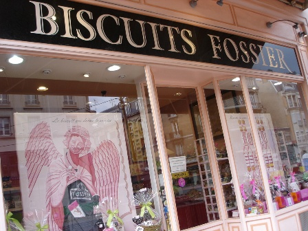 Fossier Rose Biscuits