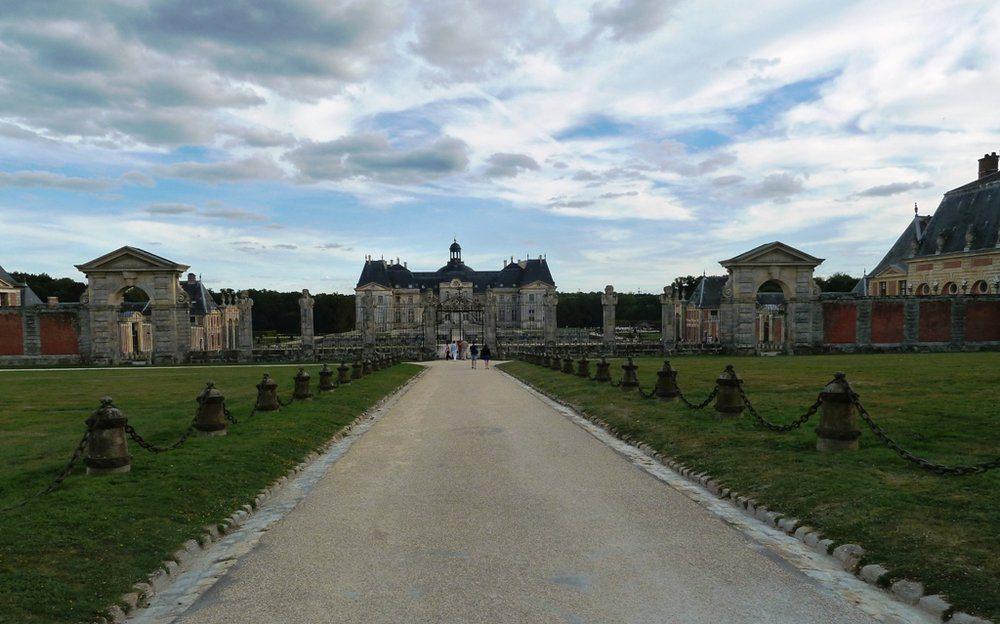 Entrance to Vaux le Vicomte