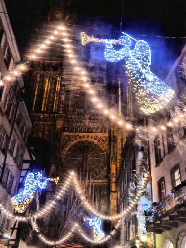 Strasbourg Christmas decorations