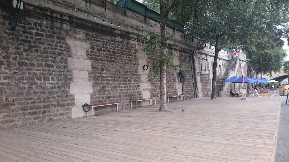 dancing area