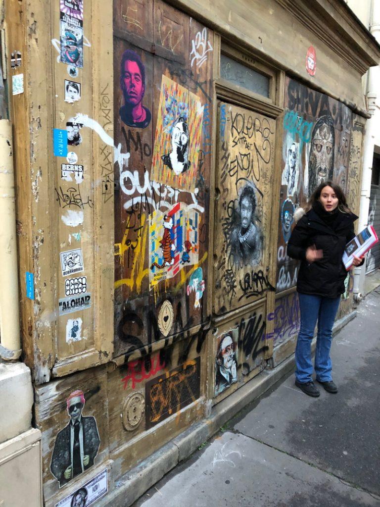 feminist street art guide in Paris