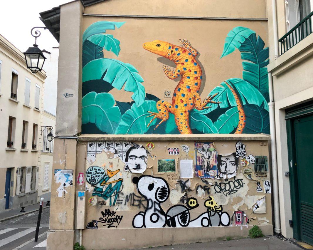 feminist street art Paris
