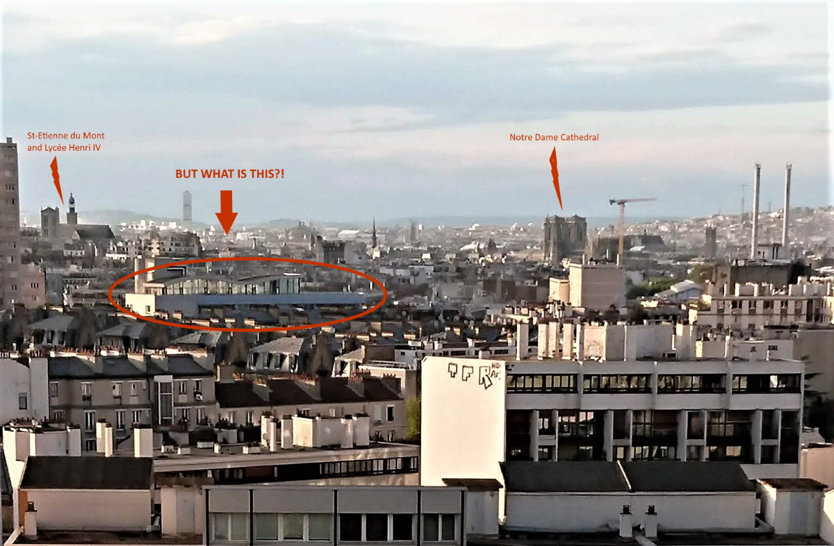 View of Paris buildings