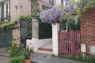 Parisian garden bungalow