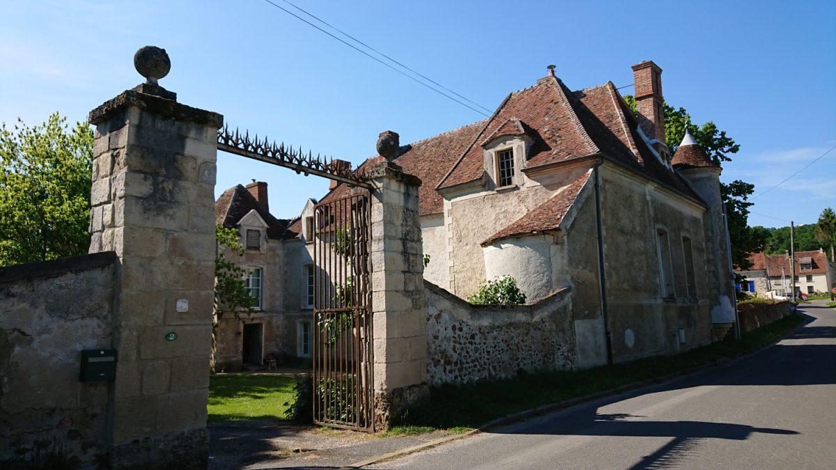 Mansion in village